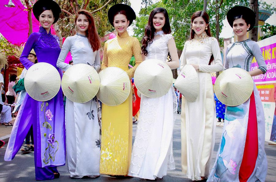 Tổ chức lễ hội áo dài trong tháng 3 tại TP.HCM