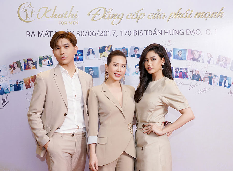 Hoa hậu Thu Hoài chính thức ra mắt Spa dành riêng cho phái mạnh sau 2 năm ấp ủ