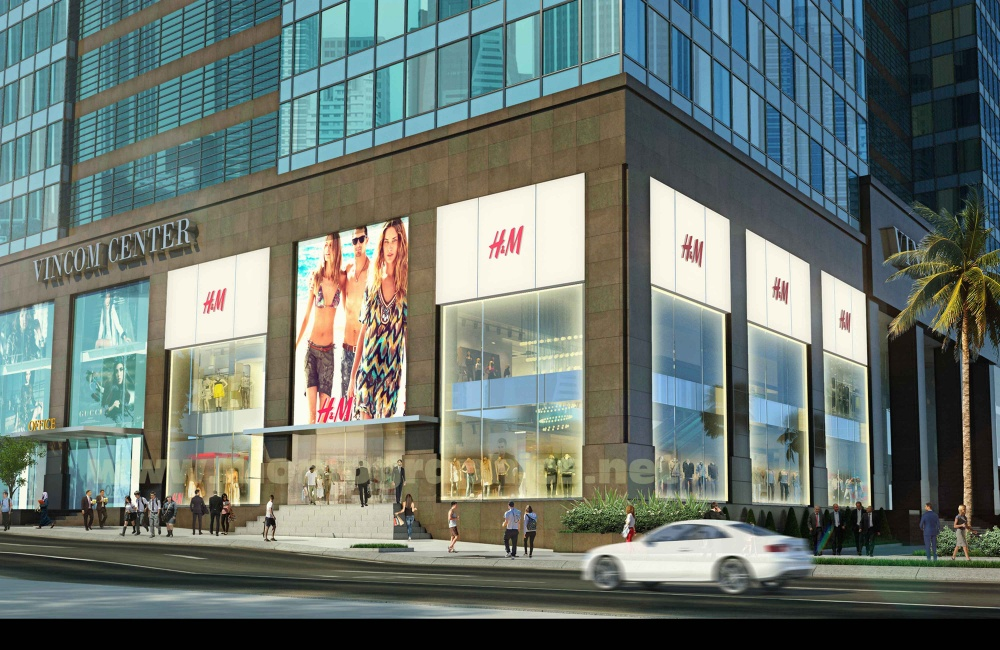 Ngày 09.09.2017, thương hiệu thời trang H&M khai trương tại Việt Nam