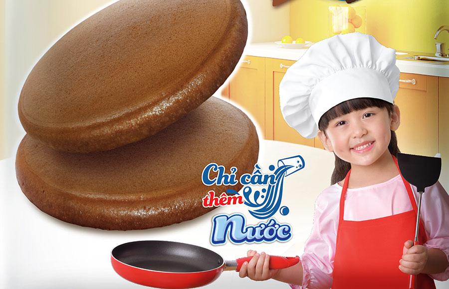 Bí quyết làm bánh rán thơm ngon chỉ trong 3 phút