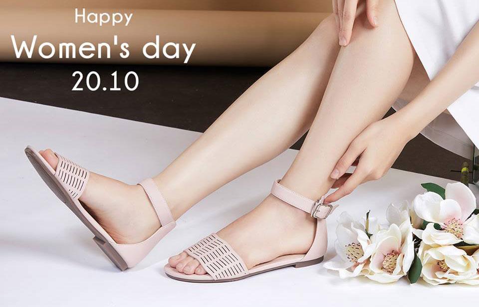 Mừng ngày Phụ Nữ Việt Nam, Mirabella tặng 1 đôi giày miễn phí