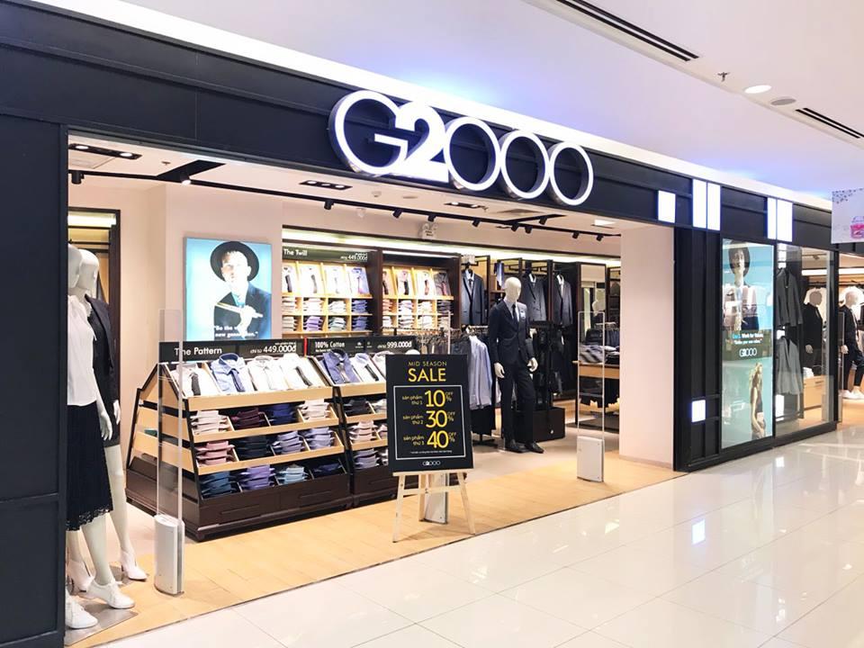 Thời trang cao cấp G2000 giảm giá đến 50% trong dịp Black Friday