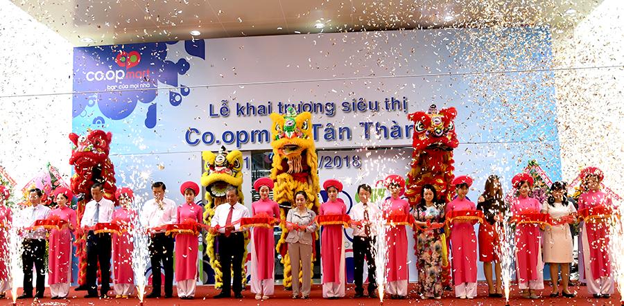 Saigon Co.op khai trương siêu thị Co.opmart thứ 95 tại Tân Thành, Bà Rịa Vũng Tàu