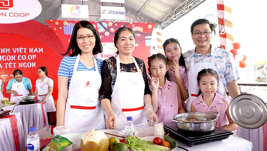 1.000 gia đình cùng Saigon Co.op nấu bữa ăn Tết ngon