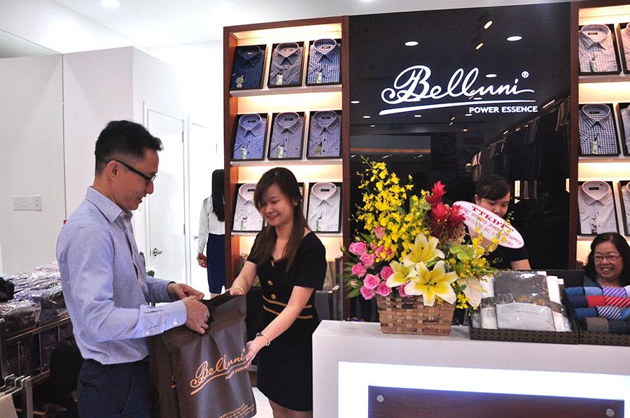 Khai trương cửa hàng thời trang Belluni thứ 78 tại Vạn Hạnh Mall