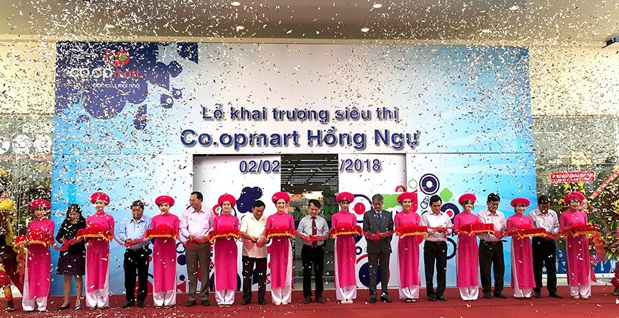 Khai trương siêu thị Co.opmart thứ 3 tại Đồng Tháp
