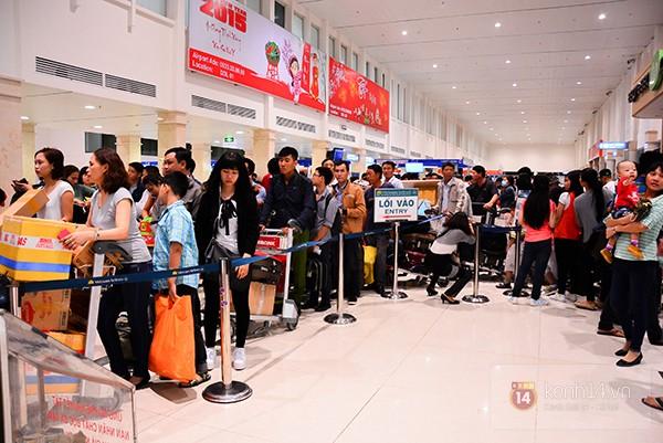 Đi máy bay dịp Tết Mậu Tuất 2018 nên ra sớm trước 2h đồng hồ