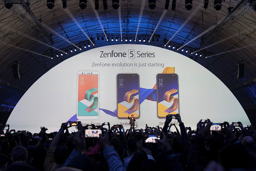 ASUS công bố ra mắt ZenFone 5 Series tại MWC 2018