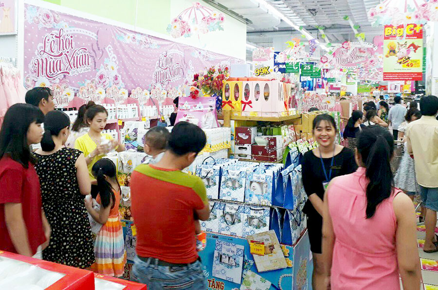 Hệ thống siêu thị Big C giảm đến 49% hơn 1000 sản phẩm làm đẹp mừng ngày 8.3