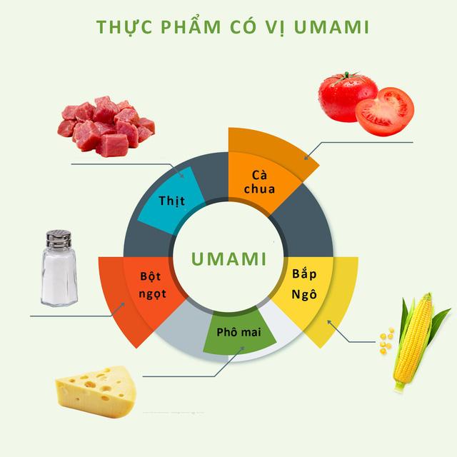 """Vị cơ bản thứ năm trong ẩm thực & câu chuyện về """"Umami"""" mà bạn chưa từng biết"""