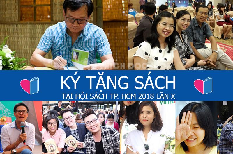 Nhiều hoạt động hấp dẫn sẽ được diễn ra tại Hội sách Thành phố Hồ Chí Minh lần thứ 10 năm 2018