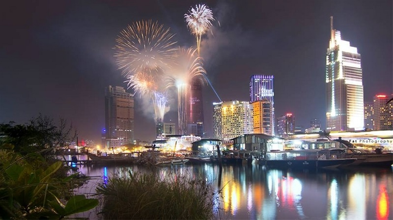 TP Hồ Chí Minh tổ chức bắn pháo hoa tại 2 điểm trong dịp lễ 30/4