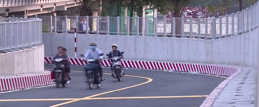 TP.HCM chính thức thông xe hầm chui cầu Bình Triệu, giảm ùn tắc xung quanh BX Miền Đông