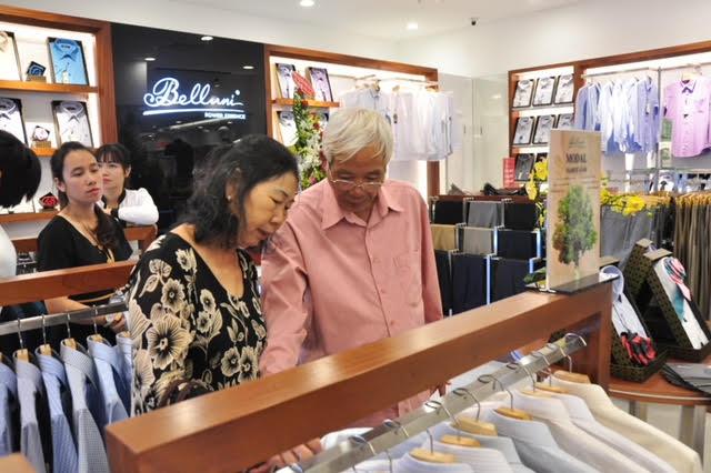 Thương hiệu thời trang nam Belluni khai trương 3 cửa hàng mới & ra mắt chất liệu mới Gracell