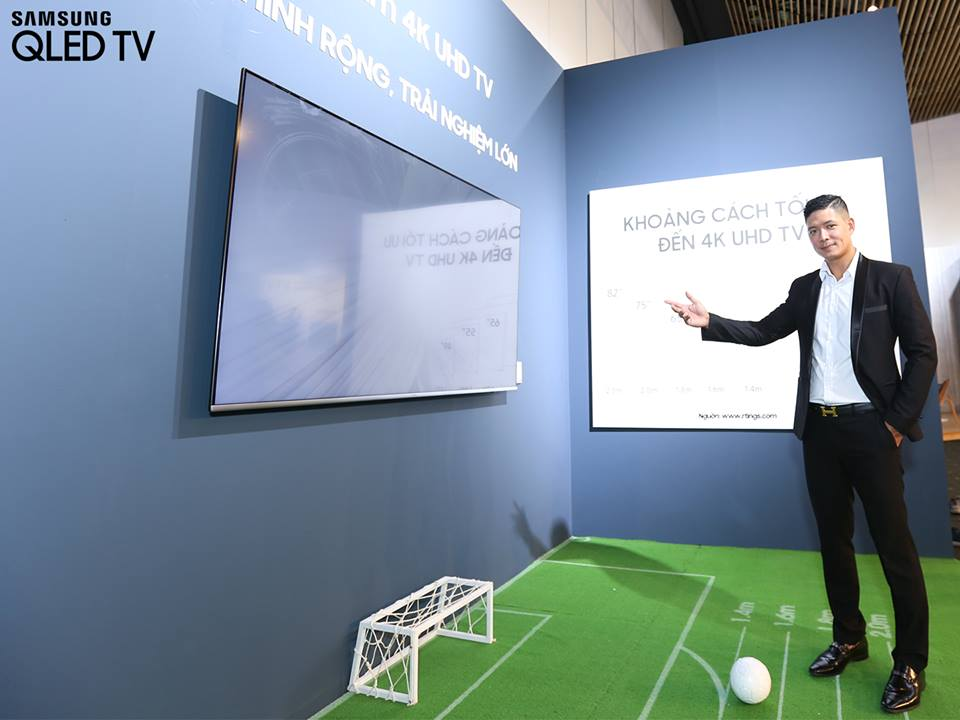 Samsung tung loạt sản phẩm TV QLED mẫu mới nhất tại thị trường Việt Nam