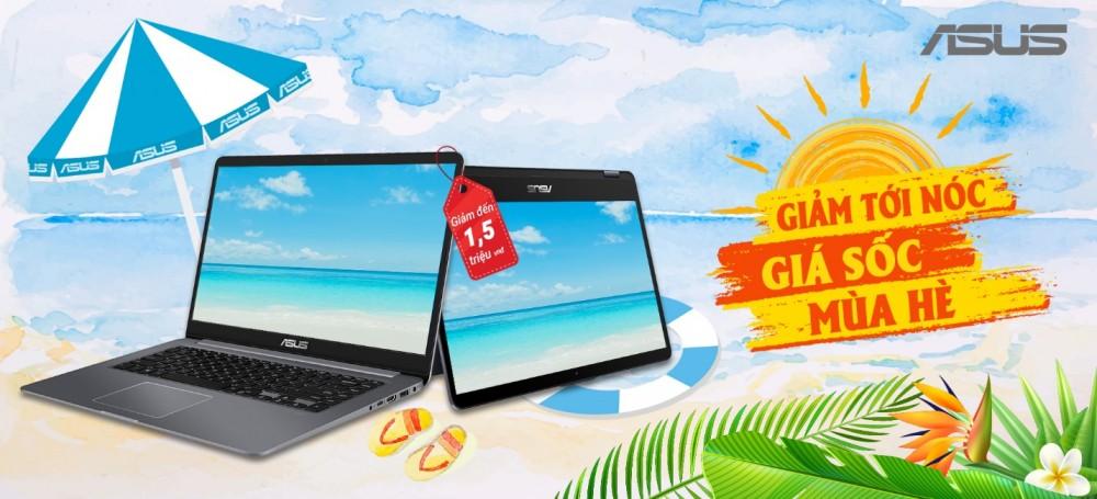 Loạt laptop ASUS giảm giá sốc
