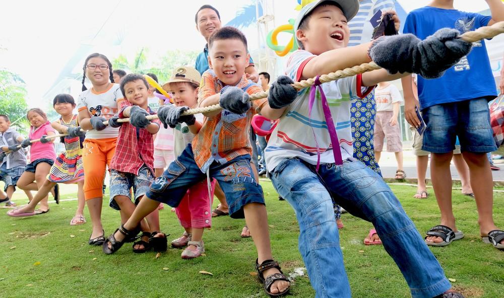 """Hơn 20.000 phần quà hấp dẫn dành cho các em thiếu nhi đến tham gia Ngày hội """"Phú Mỹ Hưng hướng về trẻ em"""