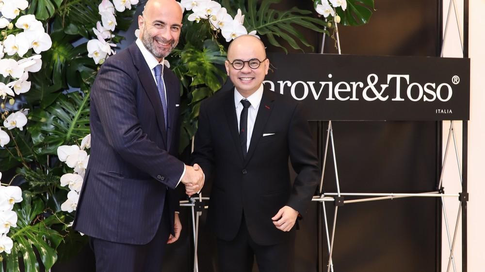 Hoàng Nam Group trở thành đối tác độc quyền phân phối thương hiệu nội thất Barovier&Toso của Ý tại Việt Nam