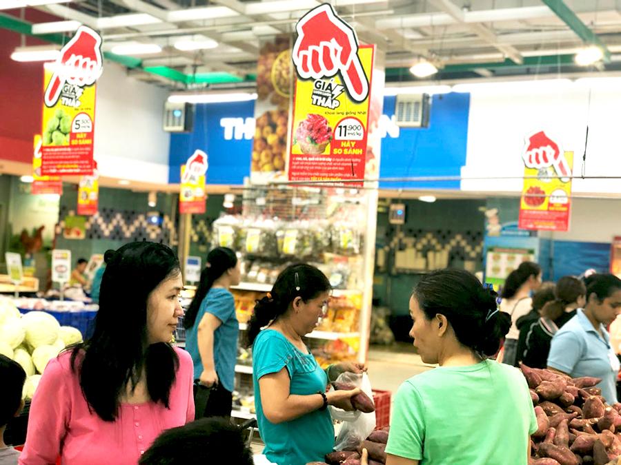 7000 sản phẩm tiêu dùng thiết yếu giá luôn luôn thấp quanh năm tại siêu thị Big C