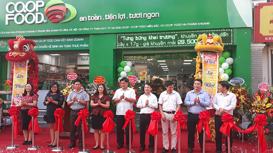 Mở rộng mạng lưới cửa hàng Co.op Food tại khu vực miền Bắc