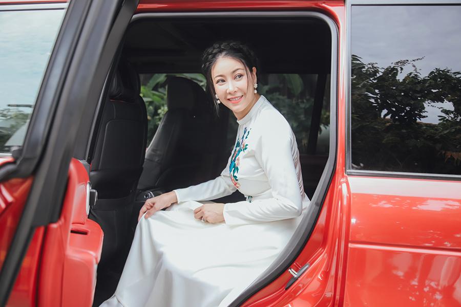 Hà Kiều Anh đẹp giản dị & nền nã trong họp báo Hoa Hậu Việt Nam