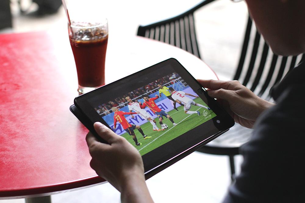 Ứng dụng truyền hình di động 'tỏa nhiệt' mùa World Cup