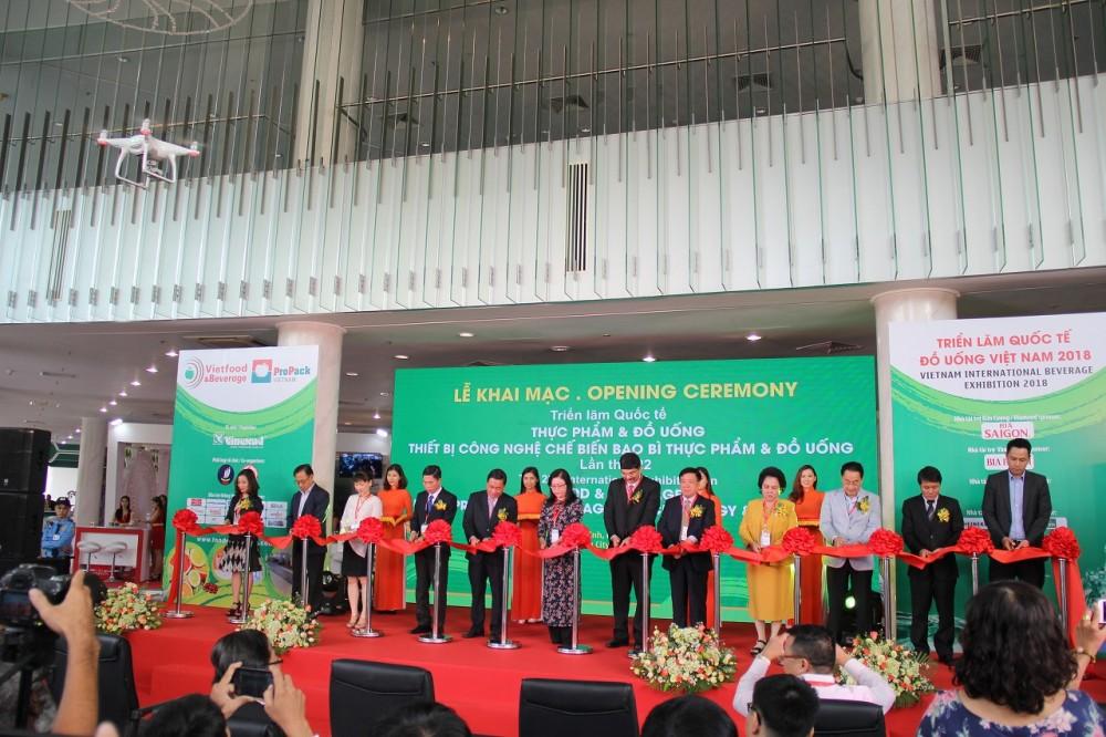 Khai mạc Triển lãm chuyên ngành thực phẩm, đồ uống Việt Nam 2018