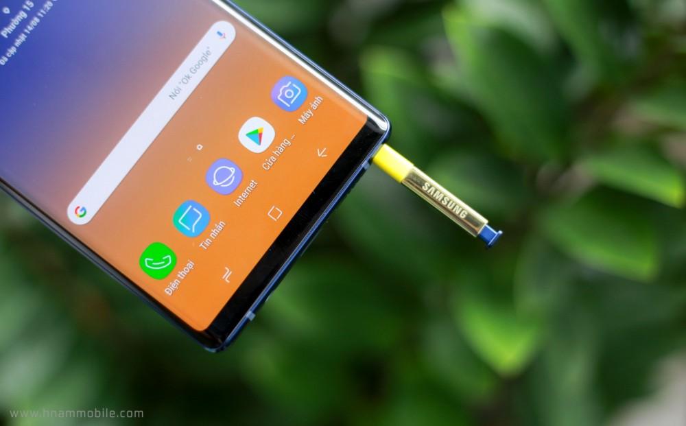 Đập hộp Galaxy Note 9 chính hãng phiên bản 512GB bán tại Việt Nam