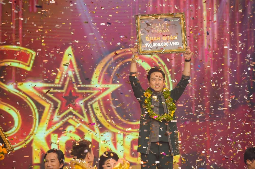 Ca sĩ Triệu Lộc xuất sắc trở thành quán quân Sao Nối Ngôi mùa 3