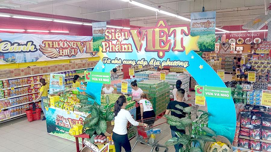 Hệ thống siêu thị Big C khuyến mãi đến 49% đối với hàng trăm sản phẩm thương hiệu Việt