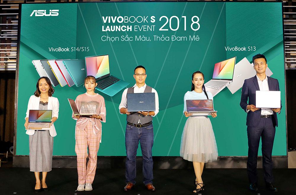 ASUS Việt Nam ra mắt VivoBook S15/ S14/ S13 cực
