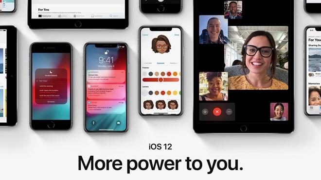 Hệ điều hành iOS 12 cho iPhone sẽ chính thức phát hành vào ngày 17.09