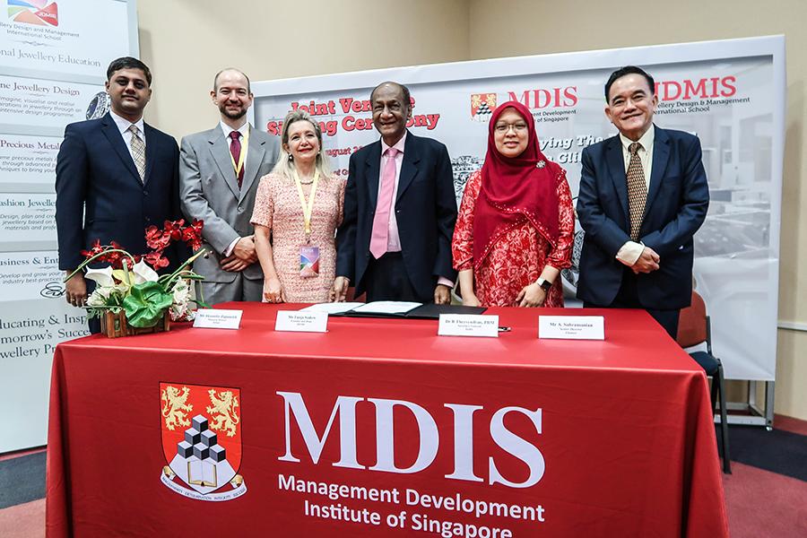 MDIS giới thiệu cơ sở mới và ra mắt chương trình đào tạo Thiết kế Nữ trang