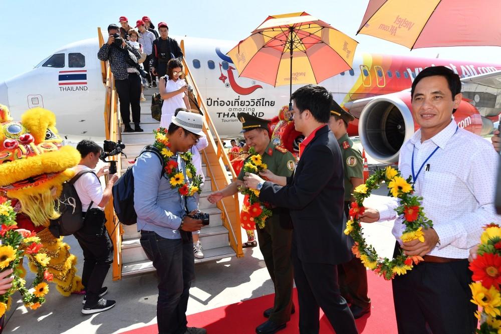 Vietjet rộn ràng đón chuyến bay khai trương Đà Nẵng - Bangkok