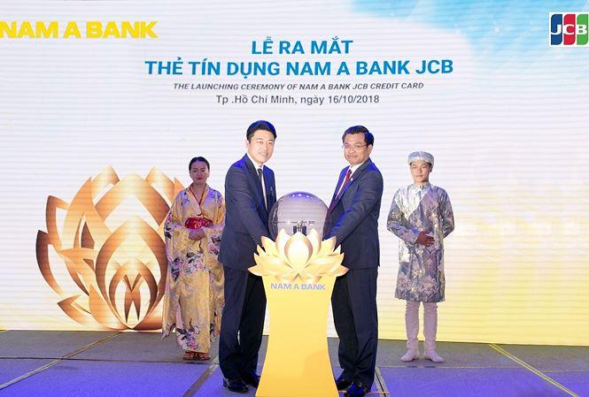 Nam Á Bank chính thức ra mắt thẻ tín dụng Nam A Bank JCB