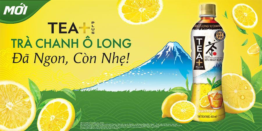 Ra mắt sản phẩm Trà Chanh Ô Long TEA+ tại thị trường Việt Nam
