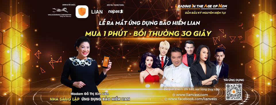 Chỉ cần tải APP đã xem được Đại nhạc hội LIAN với 6 ngôi sao nhạc nhẹ hàng đầu Việt Nam