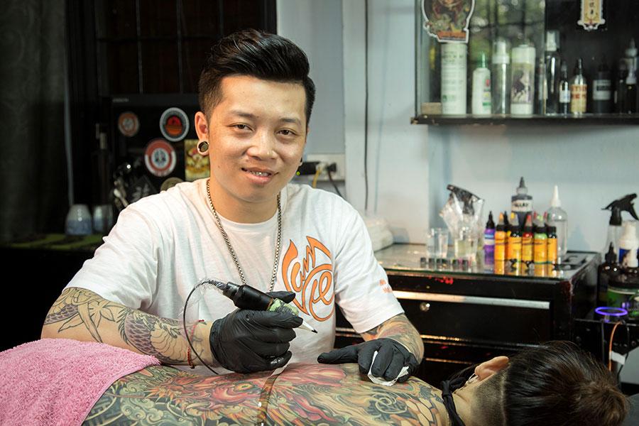 Lâm Việt Tatto thợ xăm đẳng cấp số 1 Việt Nam