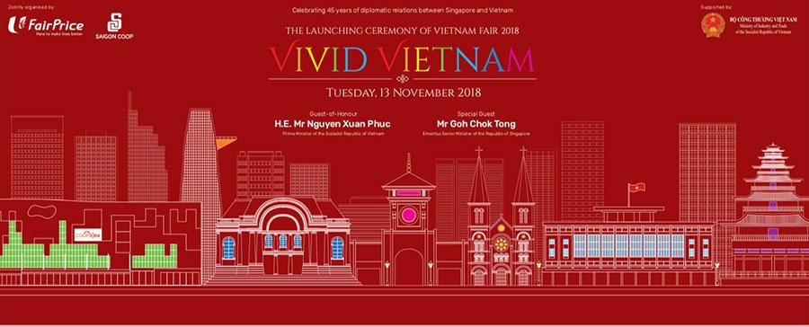 Ngày mai 13.11, Tuần hàng Việt Nam tại Singapore 2018 sẽ chính thức khai mạc