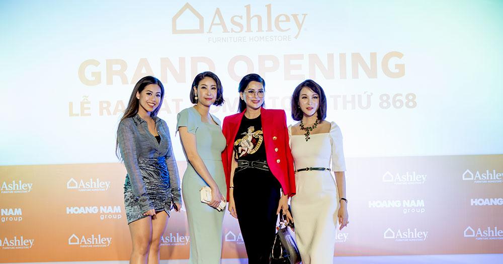 Hà Kiều Anh, Thanh Mai, doanh nhân Thuỷ Tiên rạng rỡ chúc mừng doanh nhân Dương Quốc Nam