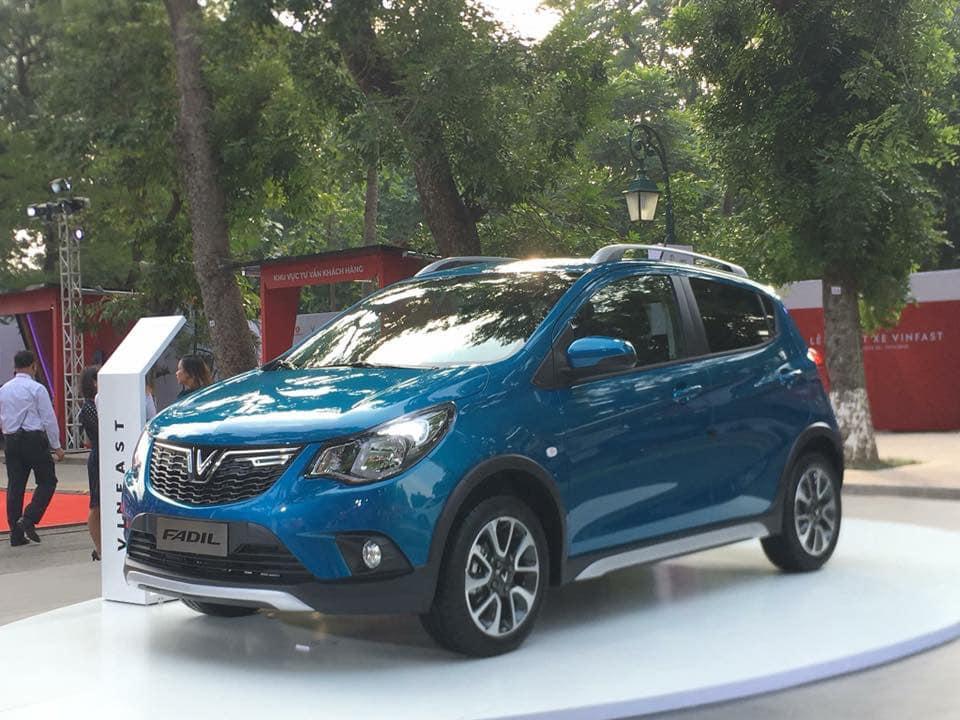 Ô tô cỡ nhỏ VinFast Fadil có giá 336 triệu đồng, chưa VAT