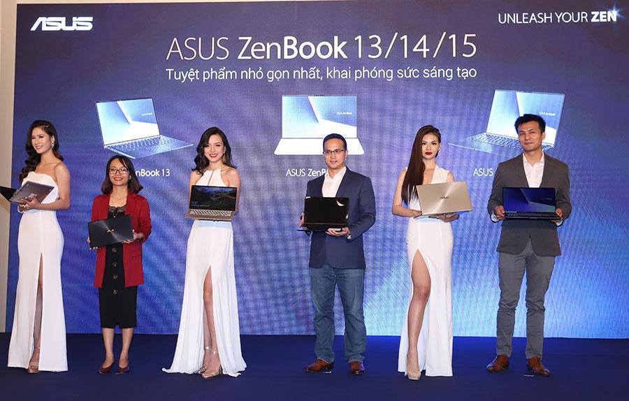 ASUS ra mắt dòng laptop nhỏ gọn nhất thế giới ASUS ZenBook 13 / 14 / 15