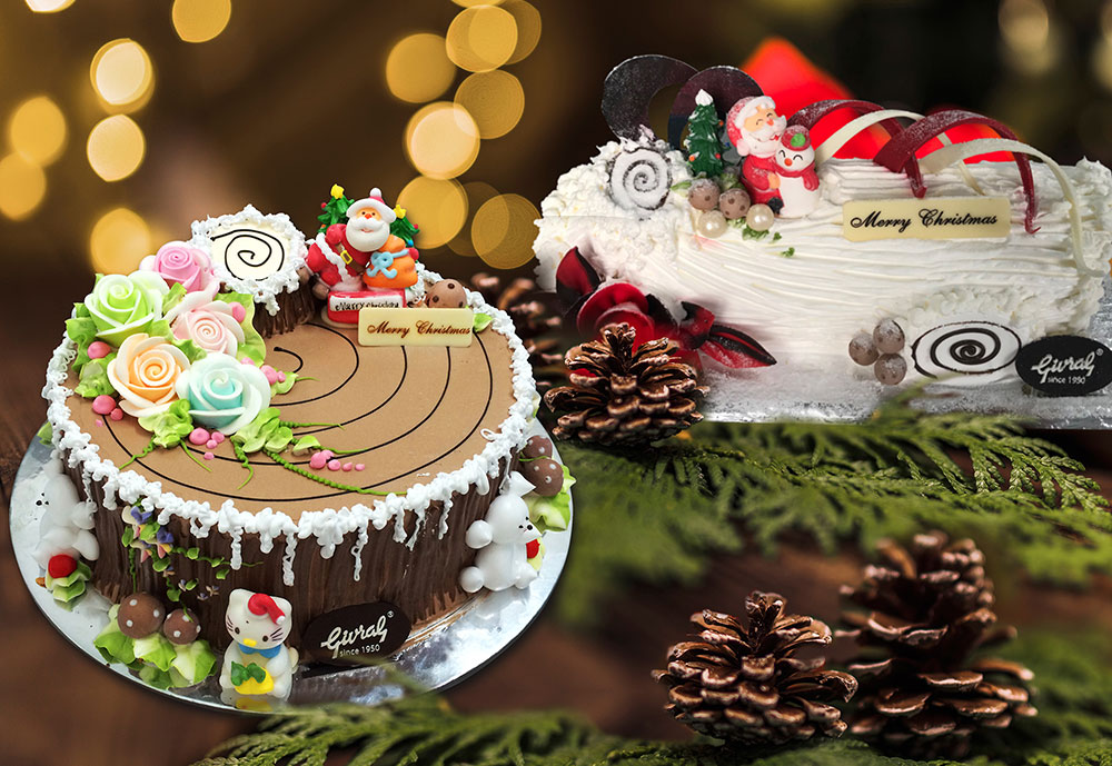 Givral ra mắt nhiều mẫu bánh mới cho Giáng sinh thêm ngọt ngào & ấm áp