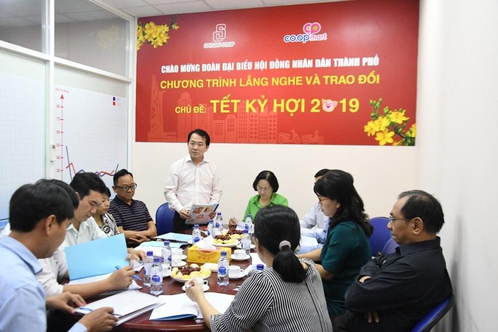 Hệ thống siêu thị của Saigon Co.op chuẩn bị 3.000 tỉ đồng hàng hóa phục vụ Tết Kỷ Hợi 2019