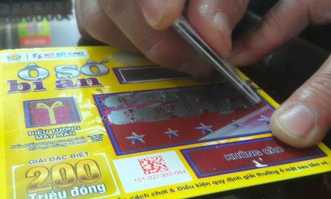Xổ số Kiến Thiết TP HCM phát hành vé cào trúng ngay 200 - 500 triệu đồng