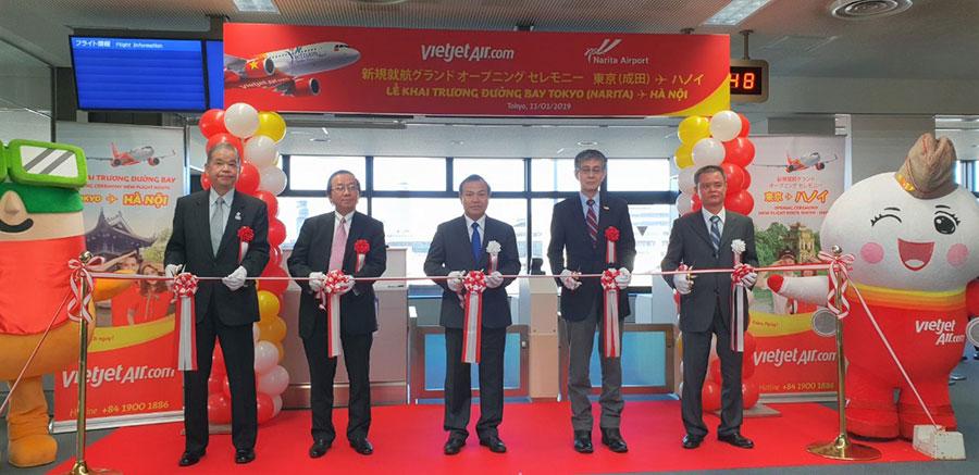 Vietjet liên tục mở rộng mạng bay quốc tế đến Nhật Bản với đường bay thứ 3 kết nối Hà Nội và Tokyo