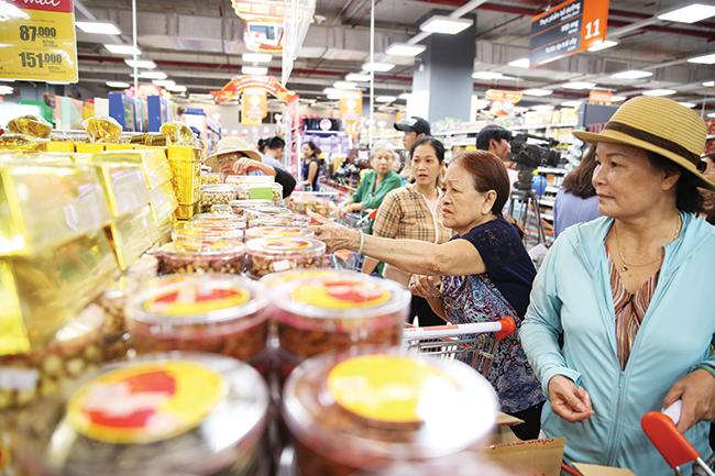 Phong phú đặc sản vùng miền phục vụ nhu cầu mua sắm dịp Tết Kỷ Hợi 2019