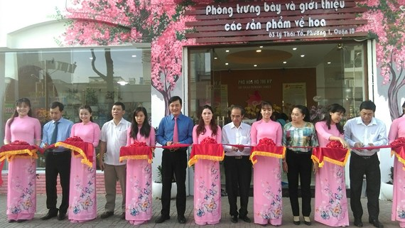 TP.HCM ra mắt Phố chuyên doanh hoa khu vực Hồ Thị Kỷ