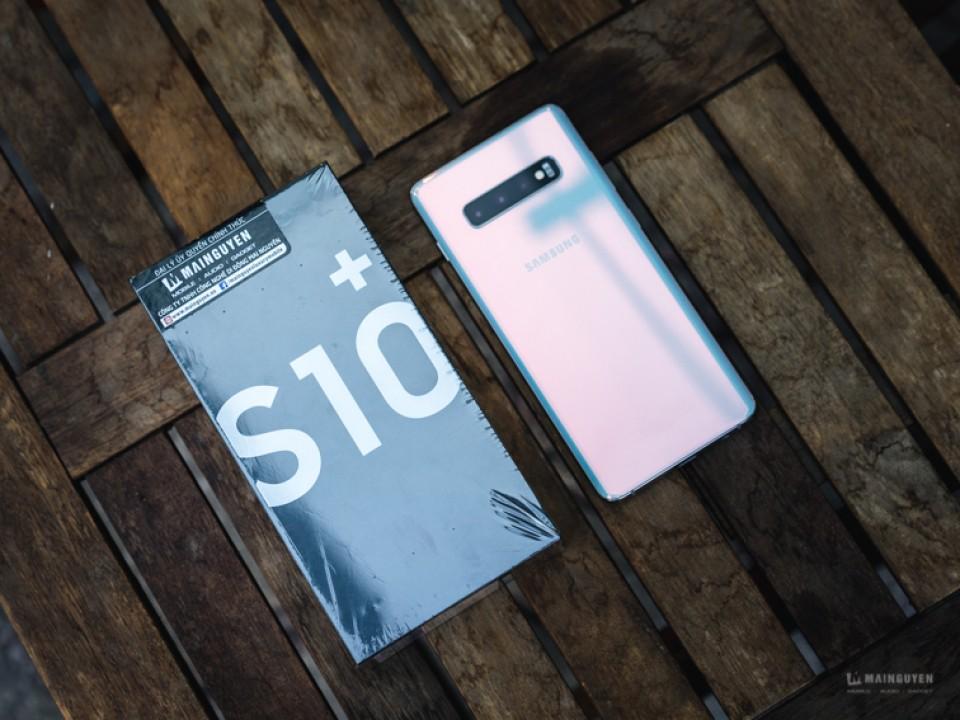 [Khui hộp] Galaxy S10+ chính hãng đầu tiên tại Việt Nam