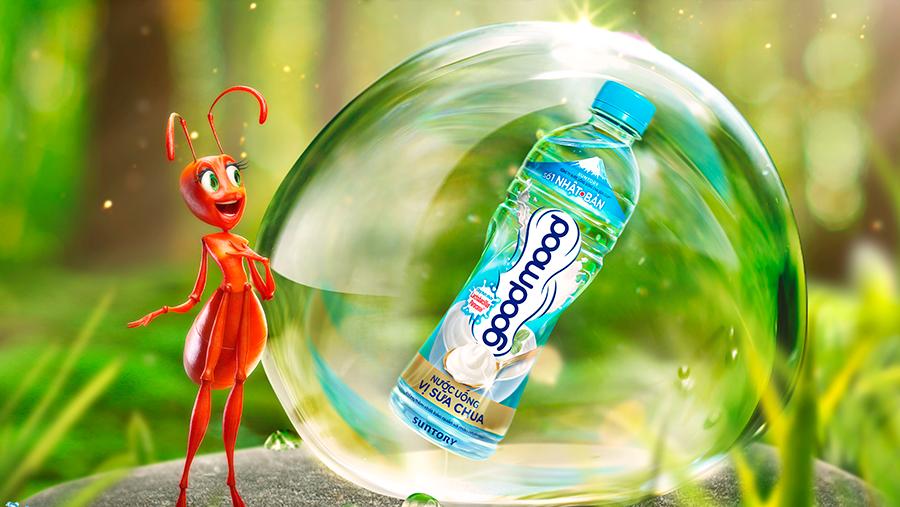 Suntory PepsiCo Việt Nam ra mắt thị trường nước uống có vị Good Mood